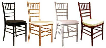beautiful Chiavari chairs