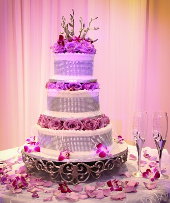 Cake for weddings and elegant events in miami