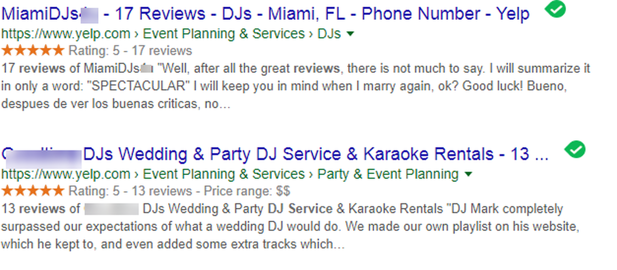 dj google reviews