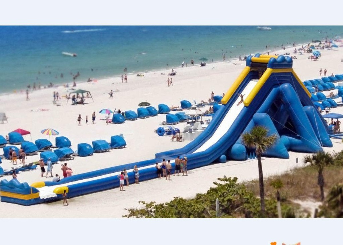 inflatable water slides for adults