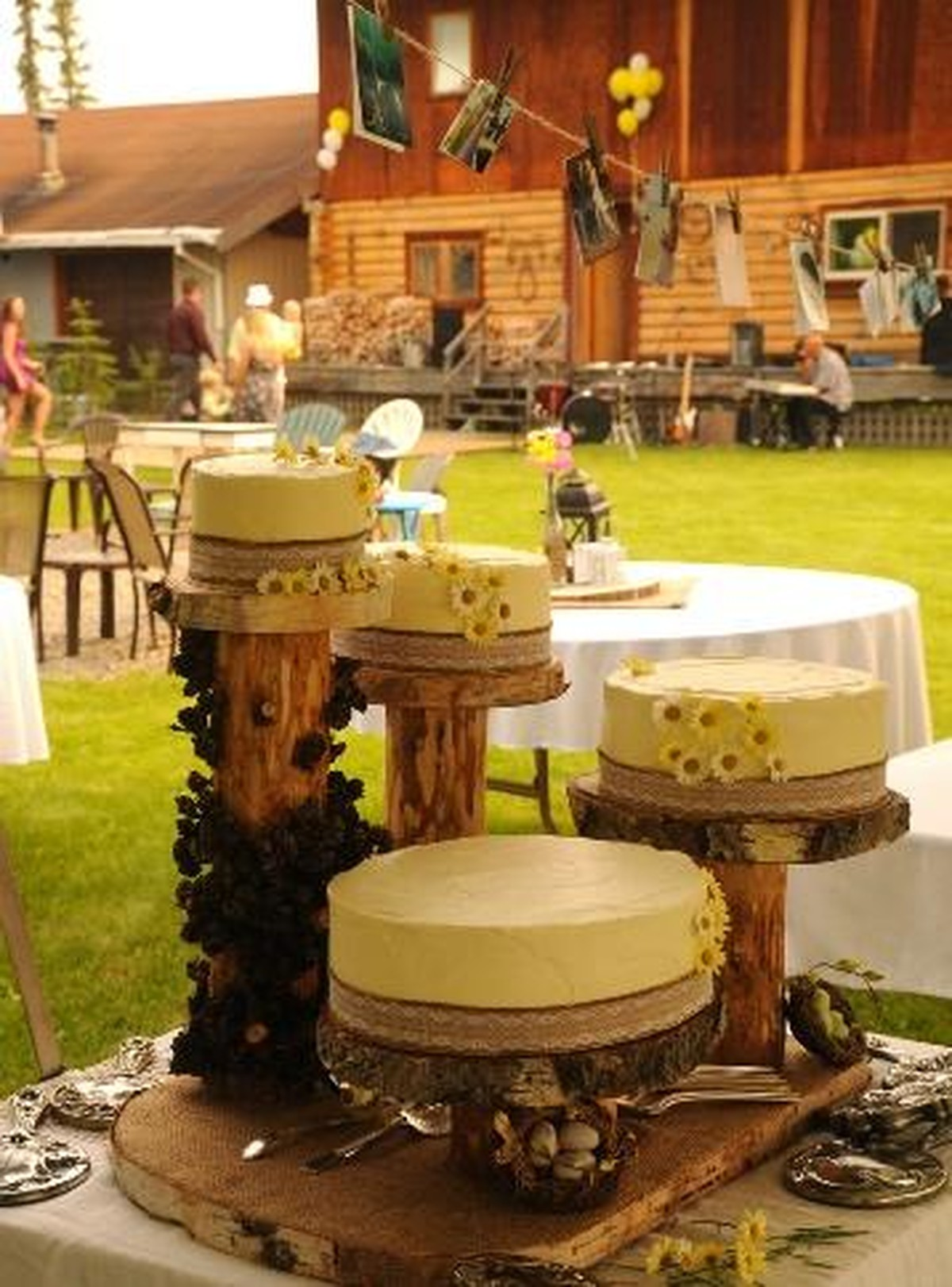 party rentals rustic event