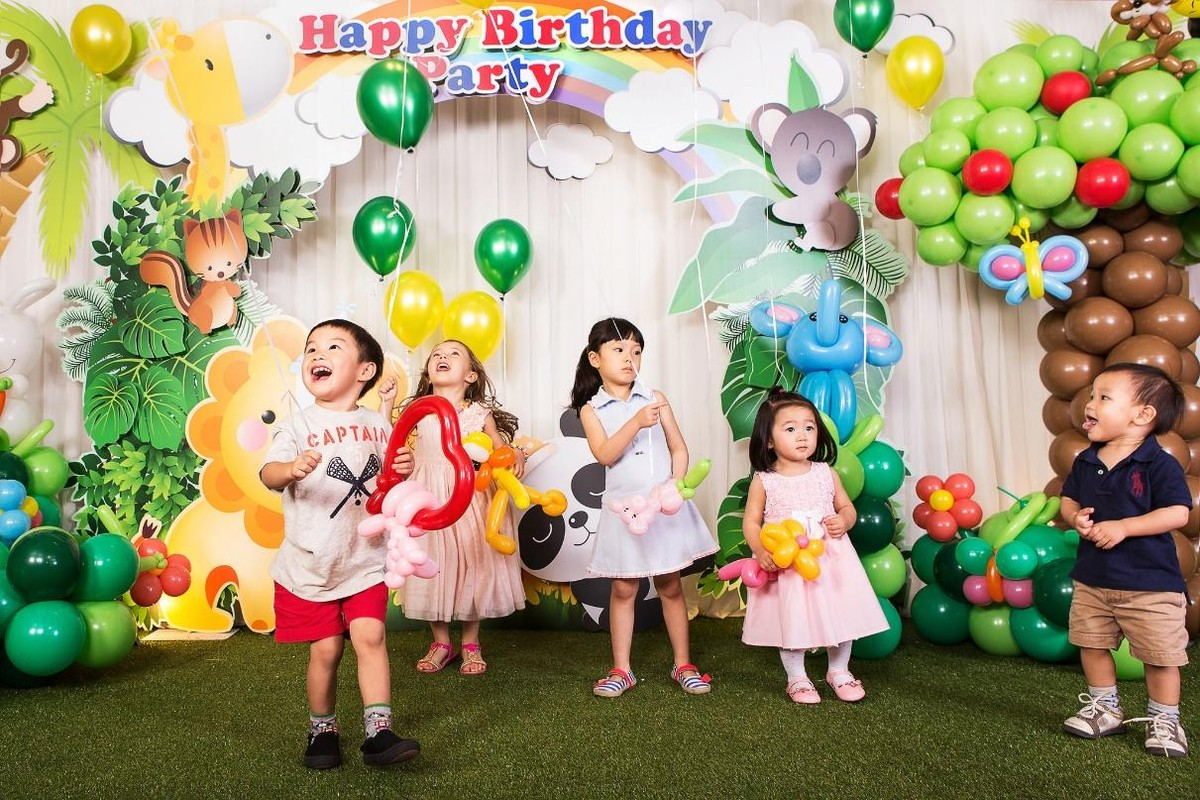 tips for planning parties for young kids