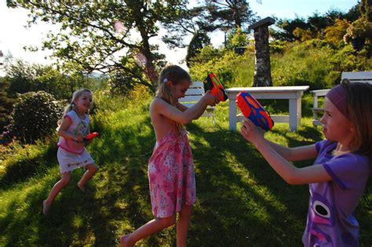 water guns summer party
