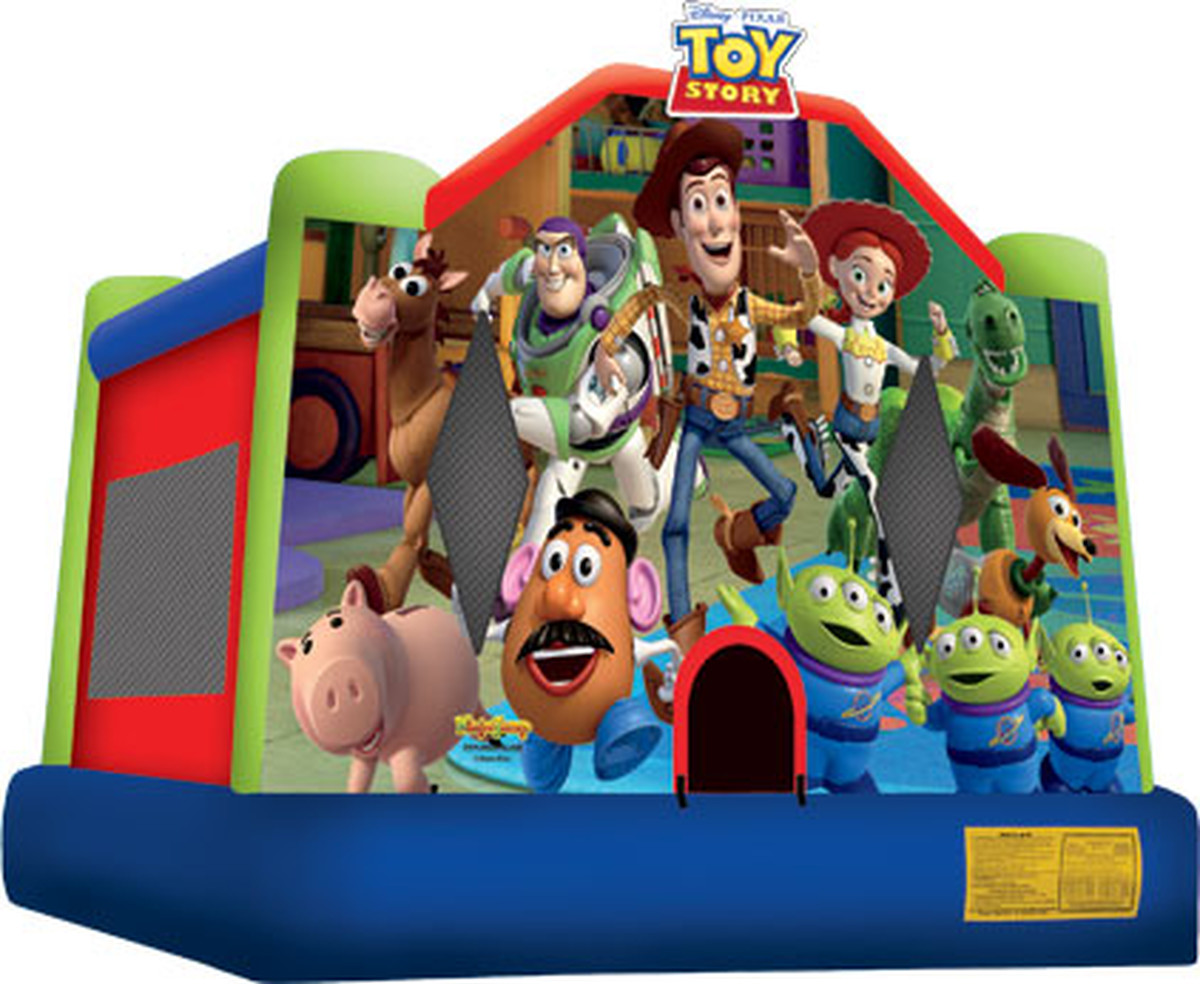 Toy story bounce house full face